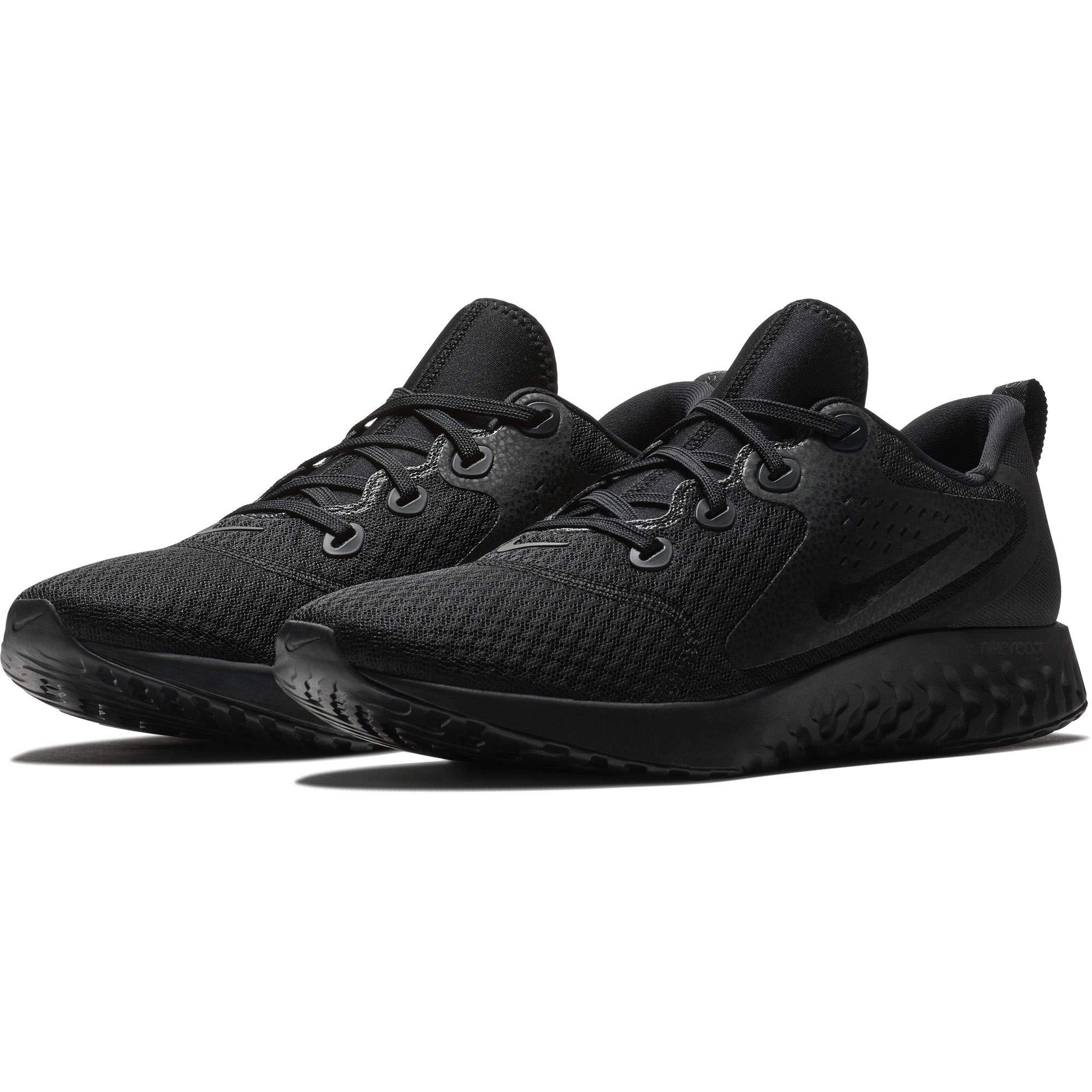 NIKE Men's Legend React Running Shoe Black Size 12 D US by NIKE