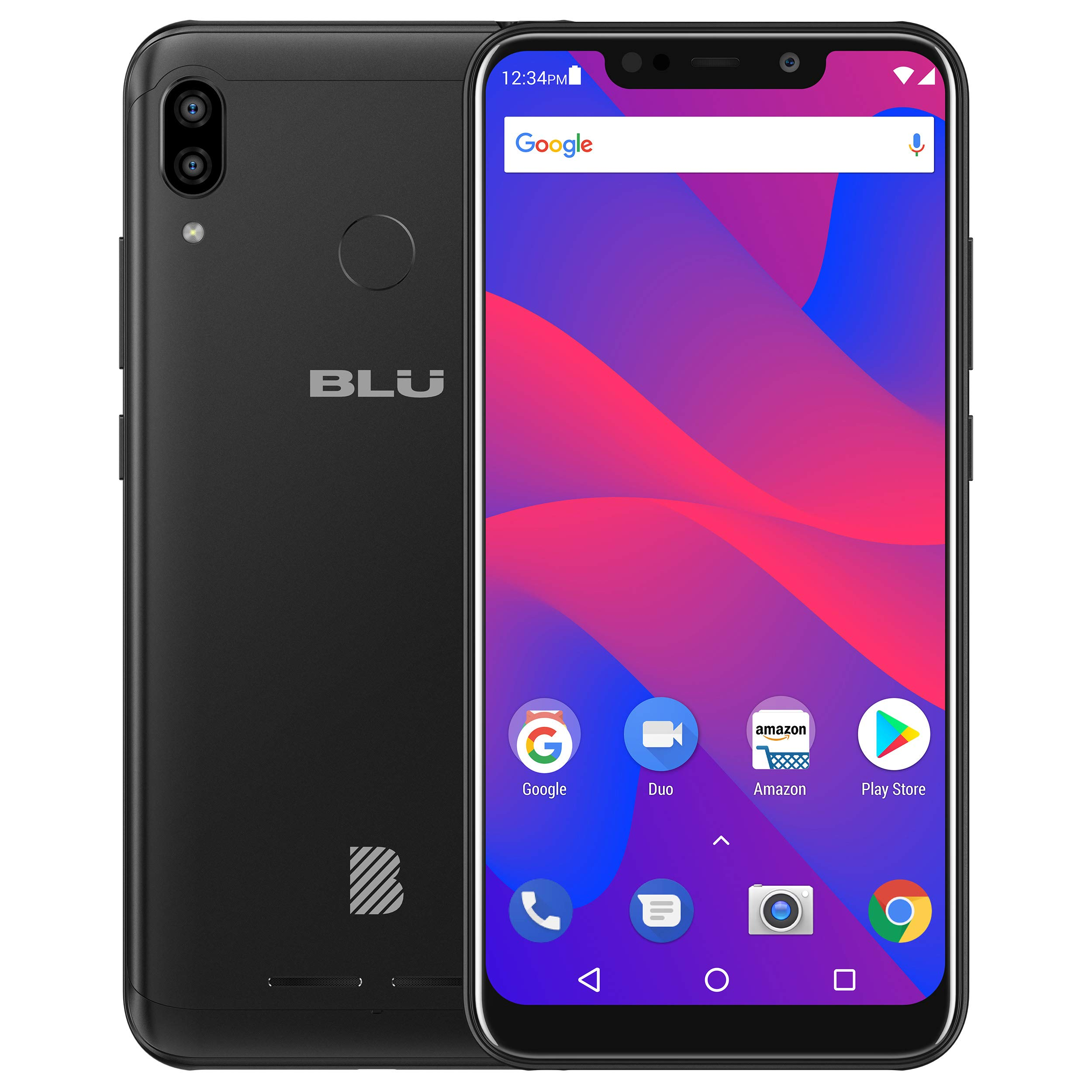 BLU Vivo XL4 6.2'' HD Display Smartphone 32Gb+3Gb RAM, Black by BLU