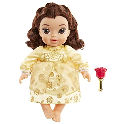 amazon com disney beauty and the beast live action baby belle doll
