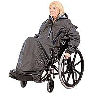 Patterson Medical Rollstuhl Kleidung Mac mit Ärmeln