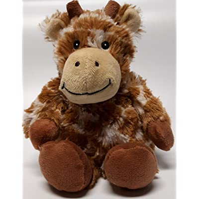 Warmies GIRAFFE JUNIOR Cozy Plush Heatable Lavender Scented Stuffed Animal: Home & Kitchen