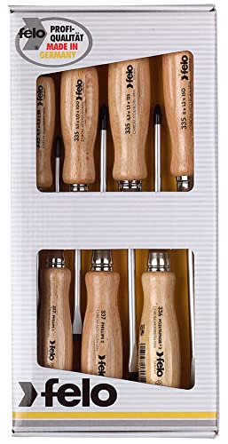 Felo 18108 7 Pc Slotted Screwdriver Set