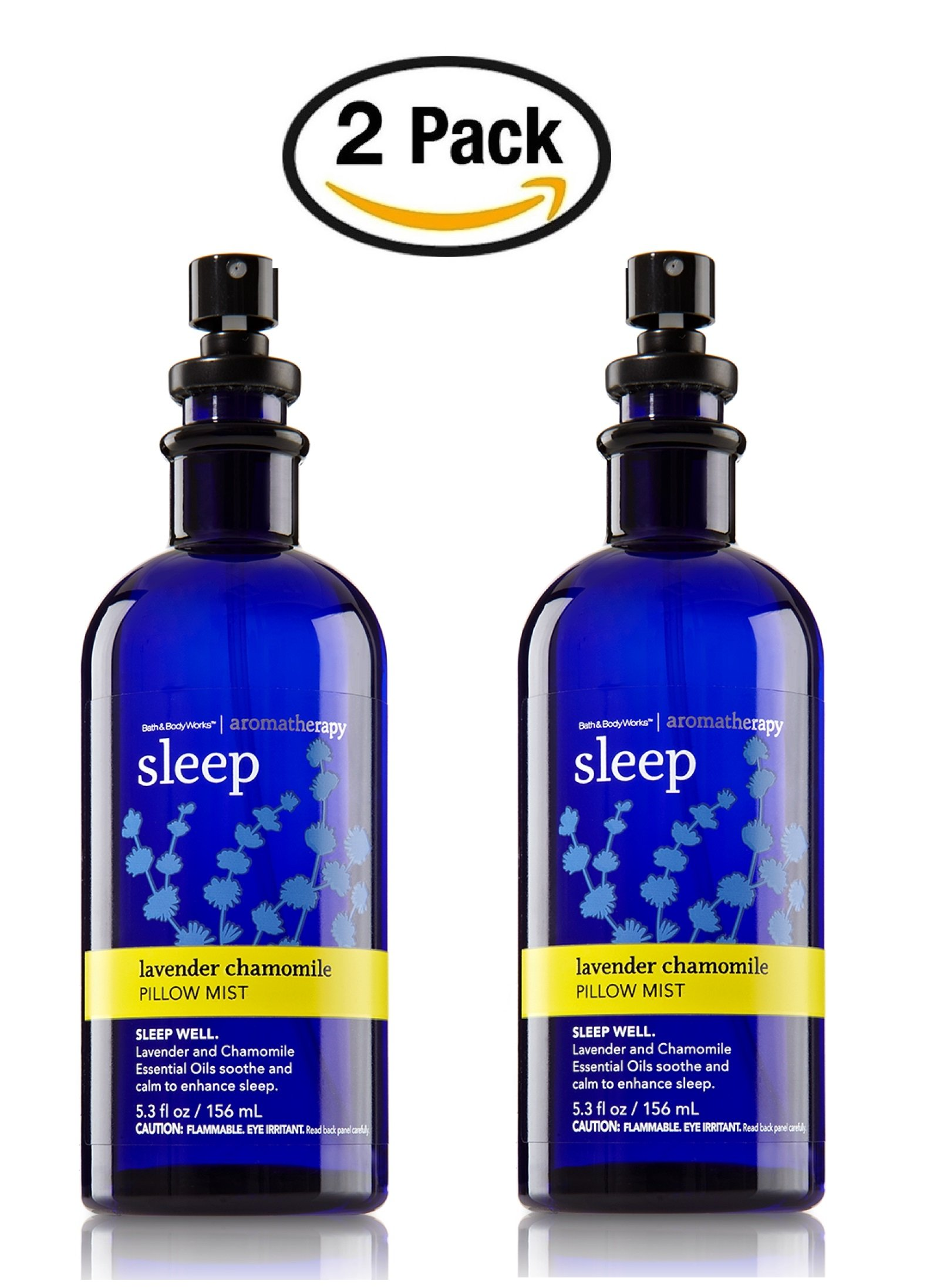 Bath & Body Works Aromatherapy Pillow Mist Lavender Chamomile 2 Pack