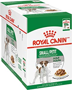 Royal Canin Small Adult Pouch Dog Food, 3 ounce Pouch (Pack of 12)