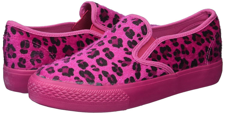 Bucco Pony Womens Fashion 100% Vegan Friendly Slip-On Sneakers B00OZTW384 9 B(M) US|Fuchsia