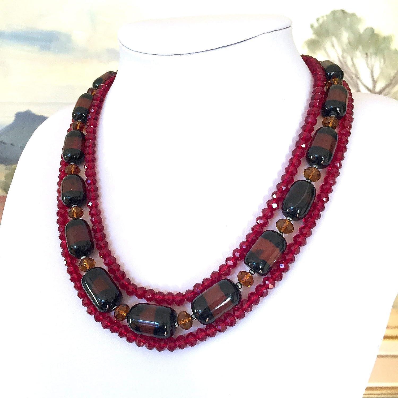 53685b336 Amazon.com  Genuine Magenta-Black AGATE Gemstones