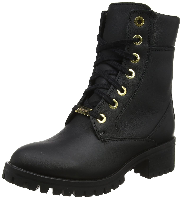 UK 5 TCX Smoke WP Ladies Motorcycle Boots 38 Black 8055W