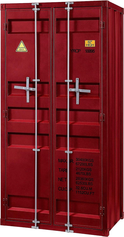 ACME Cargo Wardrobe (Double Door) - - Red