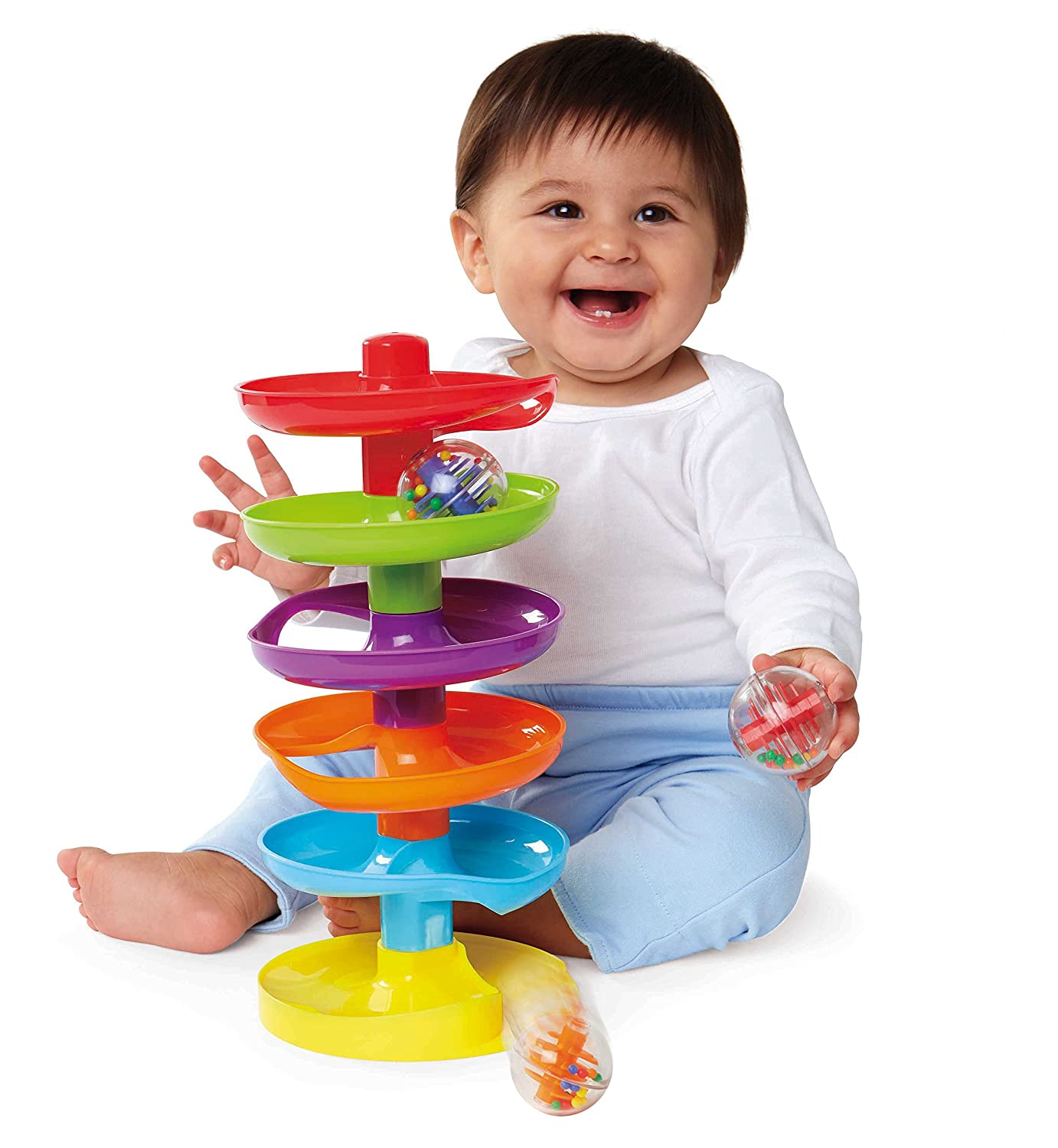 Earlyears Whirl 'n Go Ball Tower International Playthings E00388