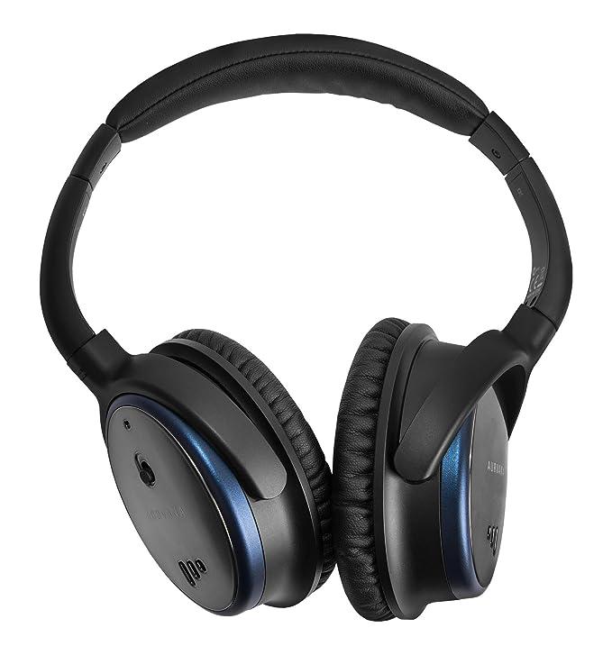 Creative Labs Aurvana ANC - Auriculares (con cancelación de Ruidos Activa, Cascos Plegables Ligeros, con micrófono) Color Cromado: Amazon.es: Electrónica