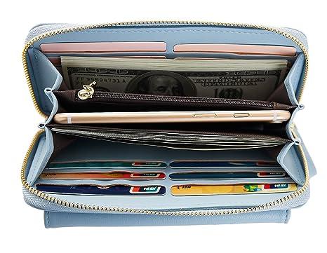 5e47dc6145 Portafoglio da Donna,Capacità Extra-Large,Pochette da sera,Porta Carte di