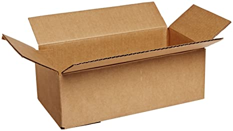 62a2339769c Image Unavailable. Image not available for. Color  Aviditi Single-Wall Long  Corrugated Box ...