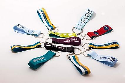 Llaveros de tela personalizados para cualquier ocasión | Llaveros ...