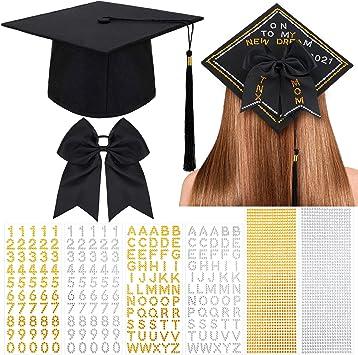 Tassel Hat Toppers Graduation Cap Decoration Set