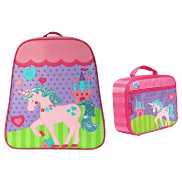 Stephen Joseph Girls Unicorn Backpack and