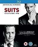 Suits - Season 1-5 [Blu-ray] [2015]