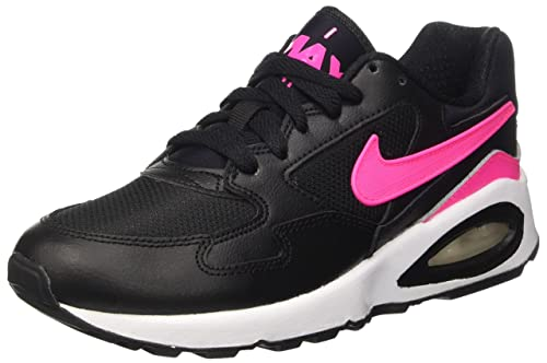 Nike Damen Air Max ST (GS) Laufschuhe, Black (SchwarzPink