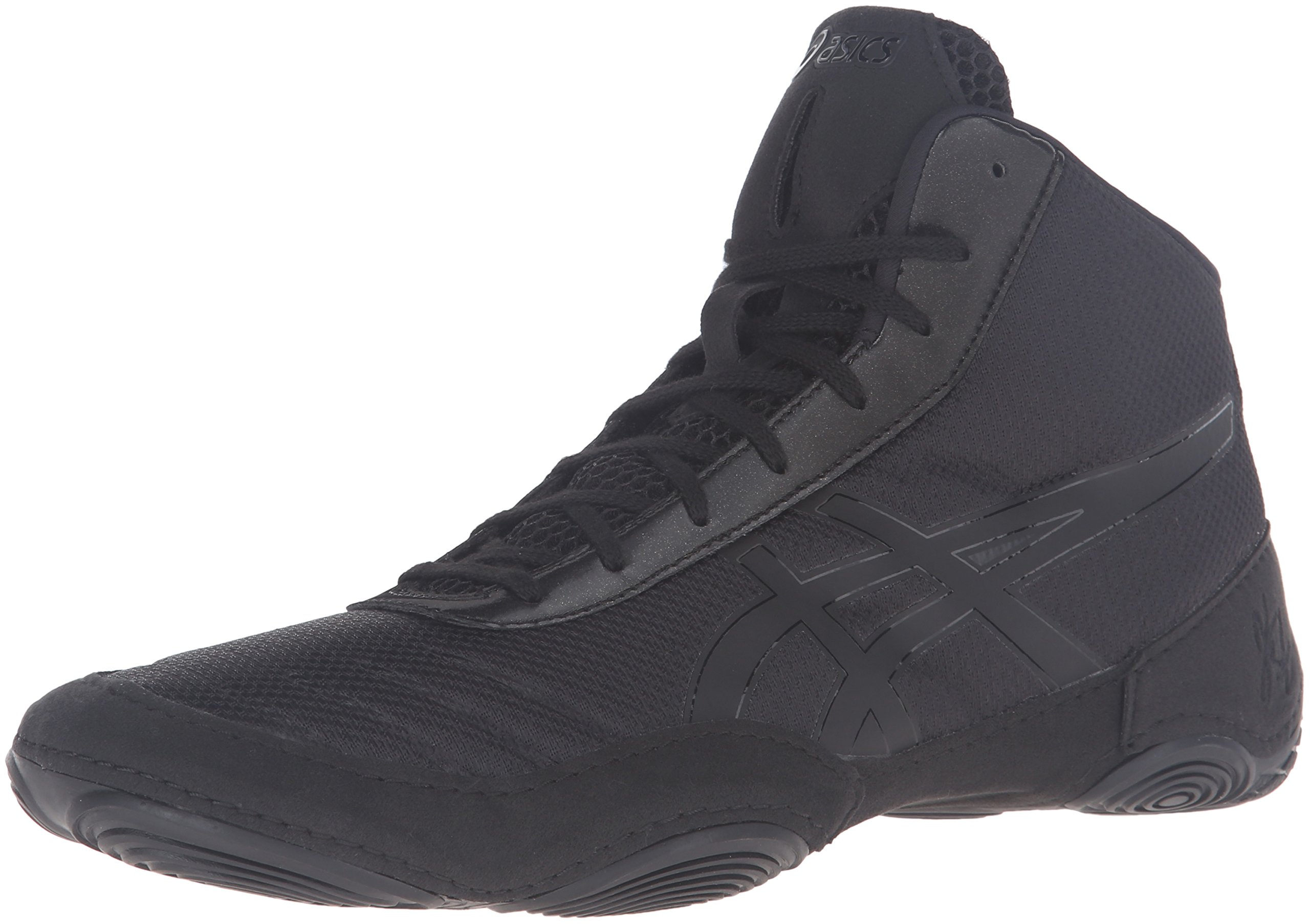 ASICS Men's JB Elite V2.0 Wrestling Shoe, Black/Onyx, 11.5 M US