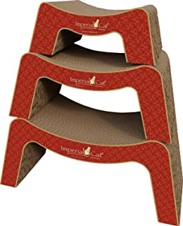 product image for Imperial Cat Scratch and Snooze Scratch 'n Shape, Victorian Red