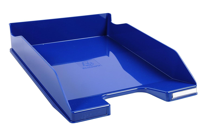 1 St/ück nachtblau Exacompta 113104D Combo Midi Briefablage 34,7 x 25,5 x 6,5 cm, f/ür Dokumente DIN A4, ideal f/ür Ihre Organisation, robust, stapelbar