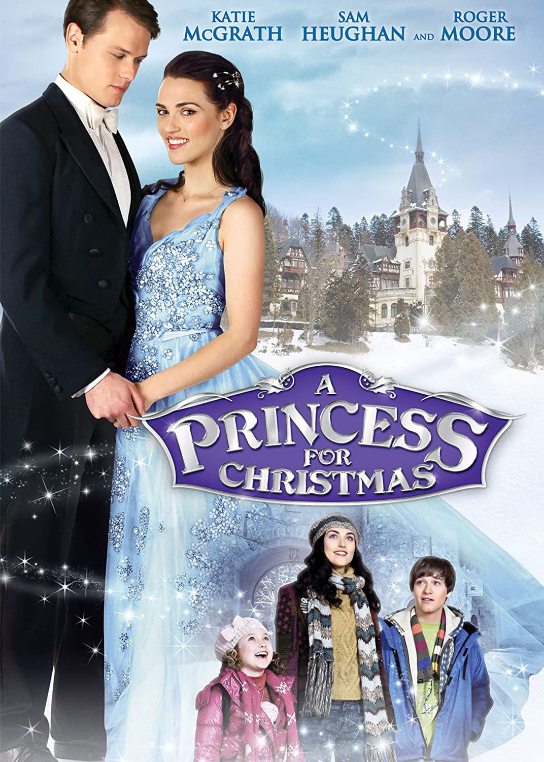 amazoncom a princess for christmas katie mcgrath roger moore sam heughan travis turner charlotte salt movies tv - Amazon Christmas Movies