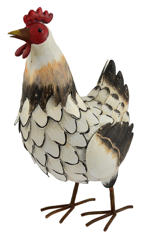 Green Jem GSGD35/gallina decorazione in metallo da giardino/ /naturale