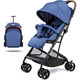 Lightweight Stroller, Baby Umbrella Strollers Foldable Compact Stroller for Travel, Convenience Stroller with Oversized…