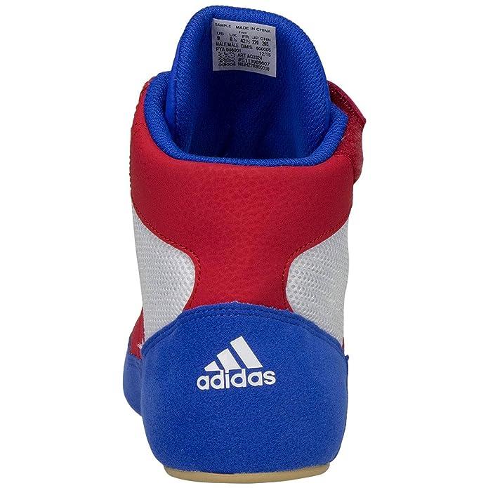 Adidas Hvc Stringate Wrestling Scarpe 14 blu rosso