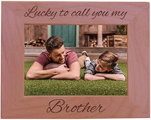 Vertical Fits 5x7 Inch Picture Wood Picture Frame CustomGiftsNow Lucky to Call You My Aunt