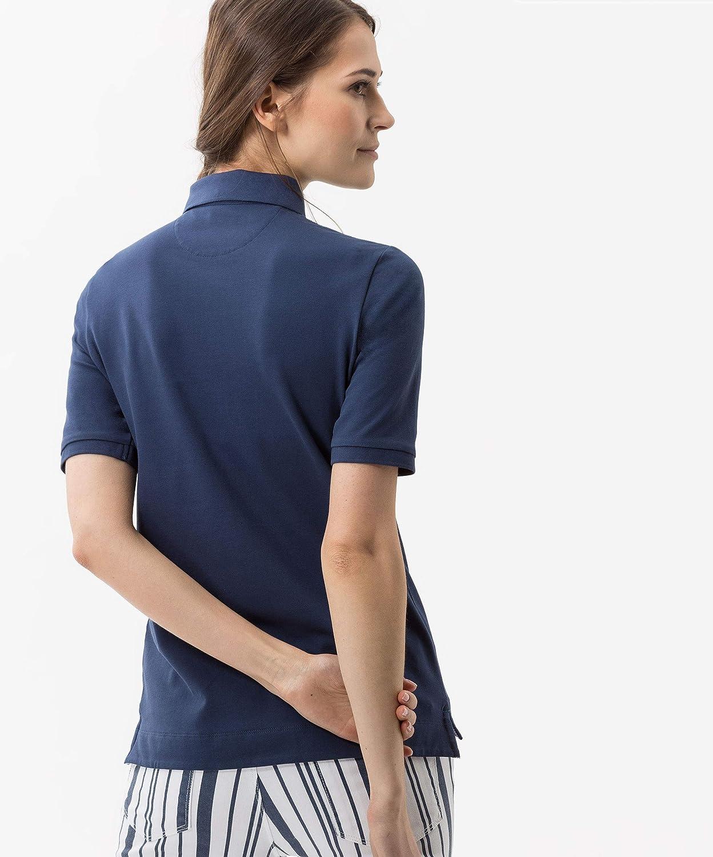 BRAX Damen Style Cleo Finest Pique Stretch Poloshirt