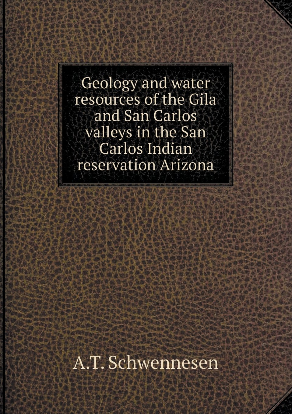 Download Geology and water resources of the Gila and San Carlos valleys in the San Carlos Indian reservation Arizona pdf