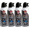 4-Pack Falcon Dust-Off Electronics Compressed Gas Duster (10 Oz)