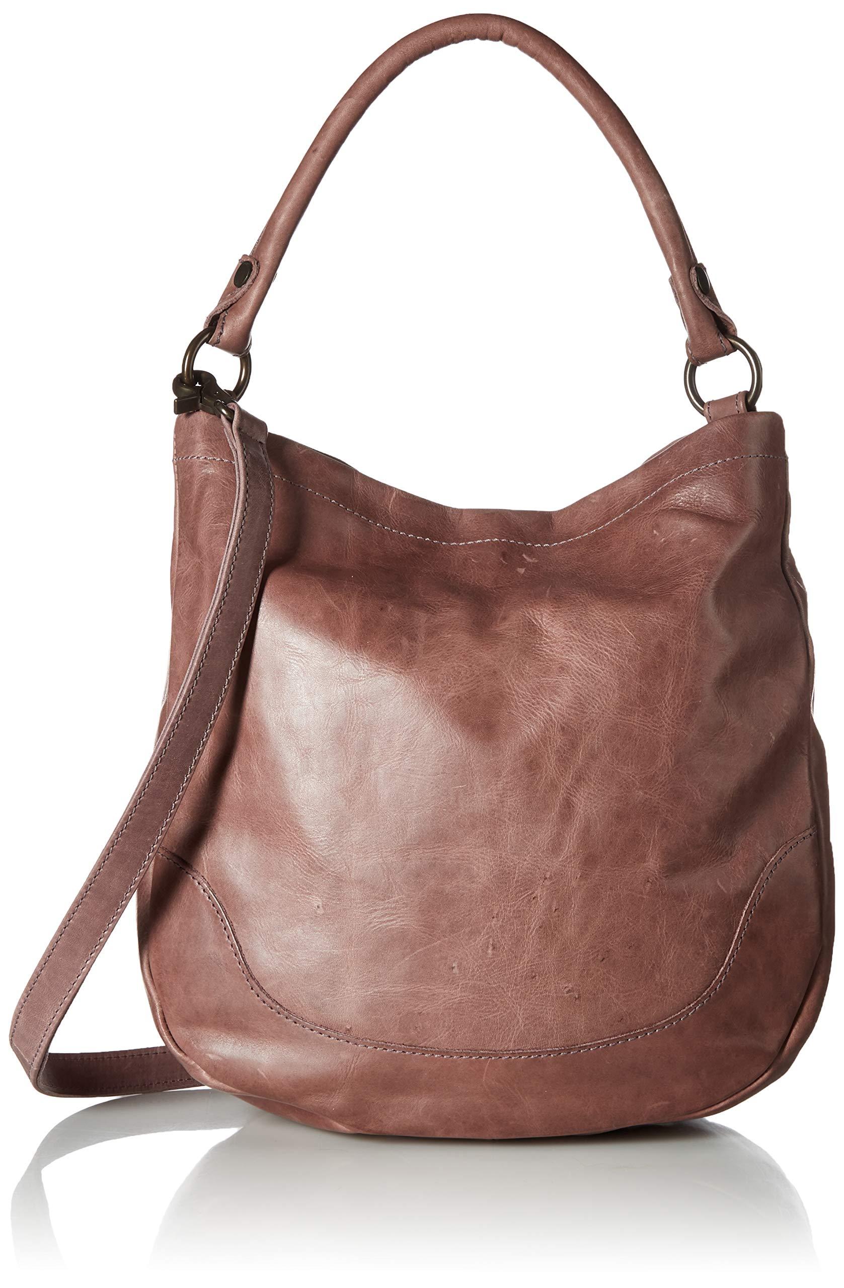 FRYE Melissa Hobo Leather Handbag, lilac