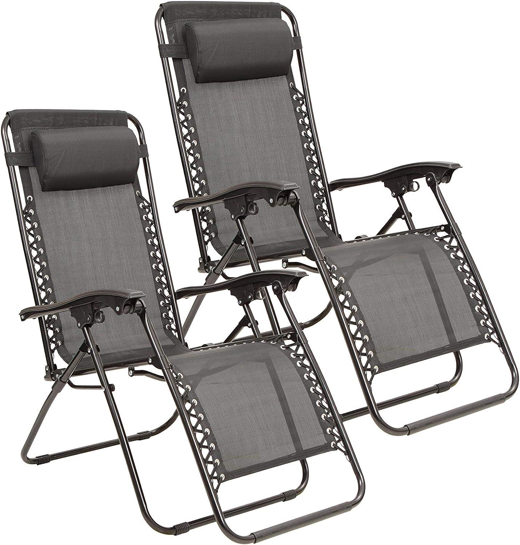 Mountain Warehouse Reclining Garden Chairs (Set of 11) - Lightweight Patio  Furniture, Picnic & Camping