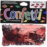 Beistle CN016 Red Grad Caps Confetti, 0.5 Ounces of Confetti In Package