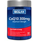 Bioglan BG CoQ10, 300mg 60s, 0.12 Kilograms