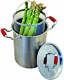 ExcelSteel Stainless Steel Vegetable Cooker, 4-1/4 Quantity