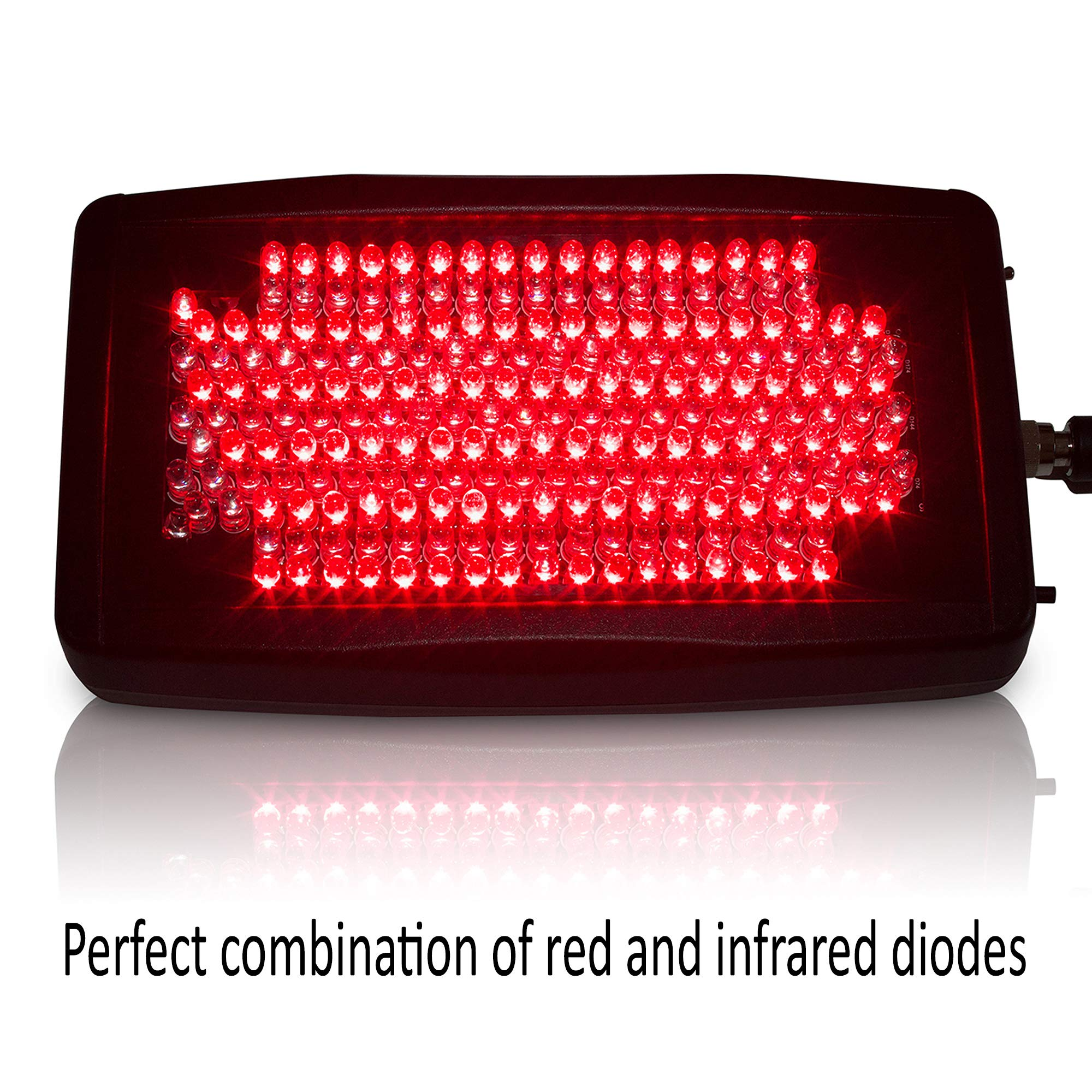 The LightDoctor Near Infrared Red and LED Light Therapy Relief for Neck Pain, Back Pain and Arthritis with Safety Timer & Custom Carrying Case, FDA Cleared by Light Doctor (Image #3)