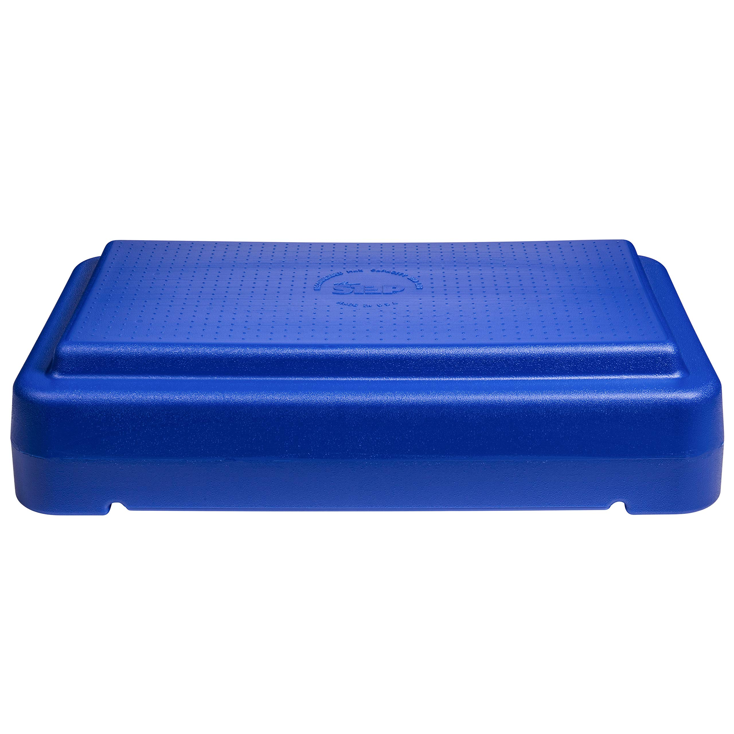 The Step 6'' Stackable Aerobic Exercise Non-Slip Platform with Nonskid Feet to Prevent Sliding