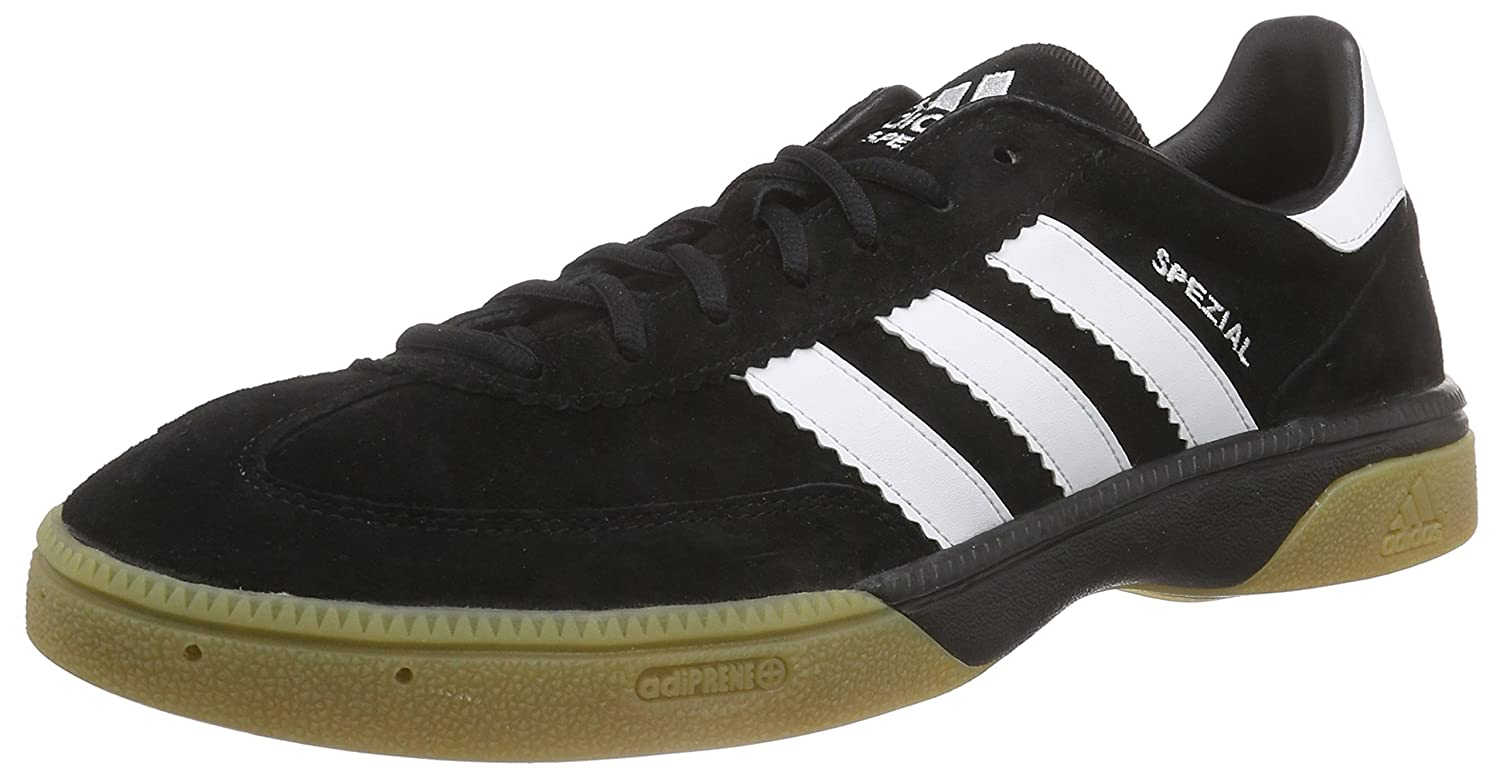 10d05323 adidas Hb Spezial, Men's Handball Shoes, Black (Black/Running White ...