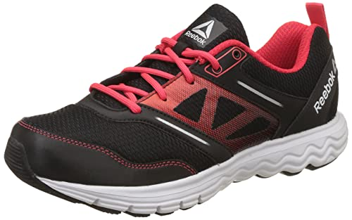 535c633e6ef759 Reebok Men s Fuel Race Blk Glow Red Silver Running Shoes - 10 UK India  (44.5 EU)(11 US) (BS9205)  Buy Online at Low Prices in India - Amazon.in