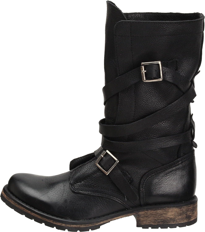 Steve Madden Women's Banddit Boot B0053VNSNW 6.5 B(M) US|Black Leather