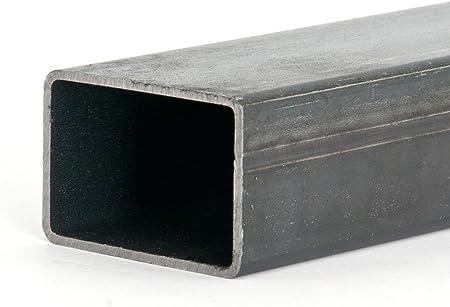 Rechteckrohr Stahlrohr Hohlprofil Vierkantrohr 1500mm L/änge 35x15x2mm Blank