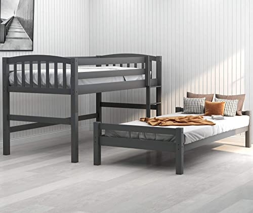 Twin Over Twin Loft Bunk Bed
