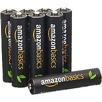 AmazonBasics 亚马逊倍思 8节七号高容量镍氢预充电可充电电池,可循环使用 500次(进口直采;日本制;标准值:850 mAh,最小值:800 mAh)