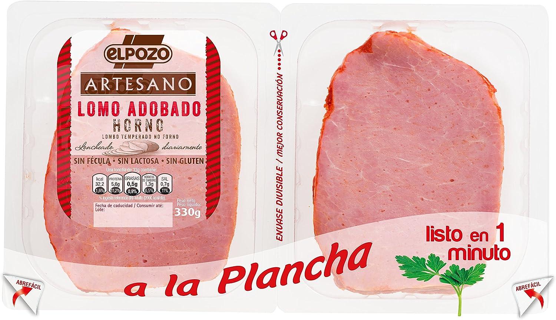 Elpozo Lomo Adobado Al Horno - 330 gr: Amazon.es ...