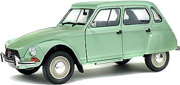 CITROEN DYANE 6 1967 JADE VERDE modello di auto 1:18//solido