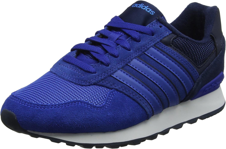 Adidas 10K, Zapatillas de Deporte para Hombre, Azul (Maruni/Azul/Azubri 000), 48 2/3 EU: Amazon.es: Zapatos y complementos