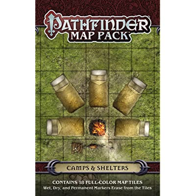 Pathfinder Map Pack: Camps & Shelters: Jason A. Engle: Juguetes y juegos