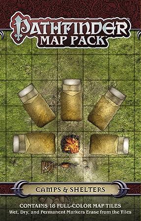 Pathfinder Map Pack: Camps & Shelters: Engle, Jason A.: Amazon.es: Juguetes y juegos
